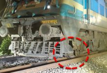 Photo of Puri: Two Train Engines Derail, No Casualties