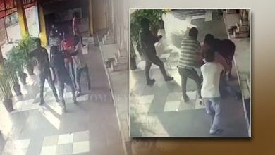 Photo of Angul Hotel CCTV Captures 3 Drunk Nalco Officials Allegedly Thrashing Customers