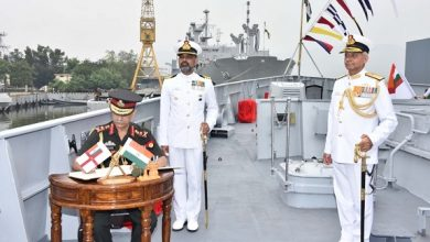 Photo of Indigenously-Built INS Kavaratti Commissioned In Indian Navy