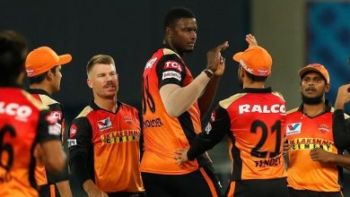 Photo of Holder Takes 3 On Return As SRH Restrict RR To 154/6