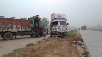 Photo of Container-Truck Collision: Truck Driver Killed On Spot In Angul