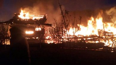 Photo of Seven Houses Gutted In Himachal Fire
