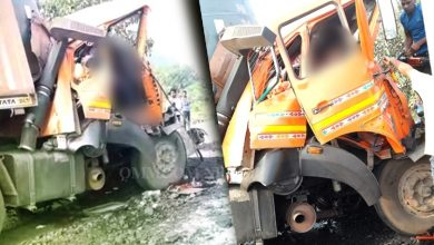 Photo of Two Killed In Truck Collision On NH 55 In Angul