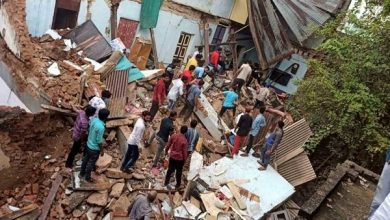 Photo of Five Women Of Family Killed In House Collapse In Telangana