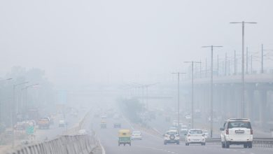 Photo of Poor Air Quality On Sunday Evening In Delhi