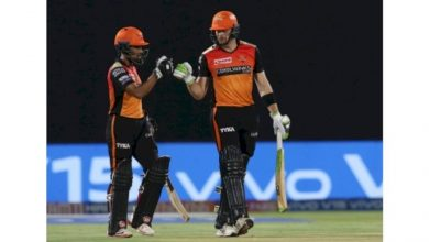 Photo of Hyderabad Stay Afloat After Rashid, Saha Star In Win