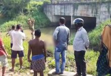 Photo of Body Of Woman Found Floating In Pipili Drain, Murder Suspected