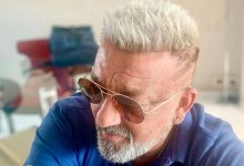 Photo of Sanjay Dutt Flaunts Platinum Blonde Hairdo