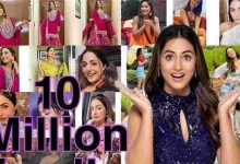 Photo of Hina Khan's Instagram Family Grows To 10 Million