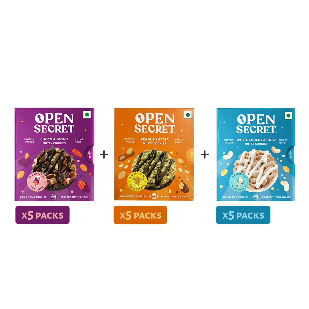 Tiffin Pack (5x of all 3 flavours)