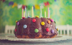 Home made Birthday cake