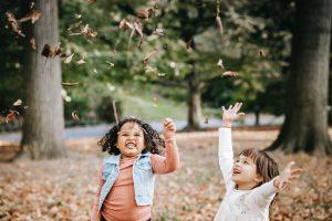 kids enjoying