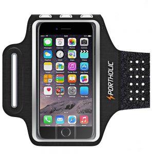 PORTHOLIC Sweat Resistant phone Armband