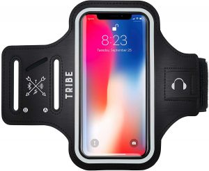 TRIBE Water Resistant Cell Phone Armband Case