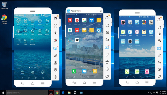 Alternatives for Mobizen For PC