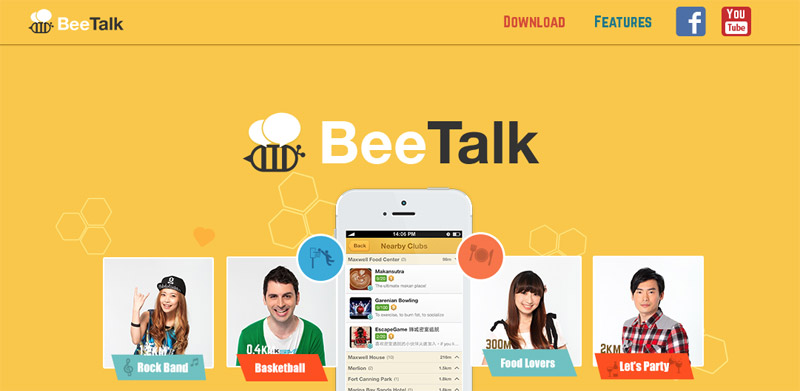 Features of Beetalk for PC
