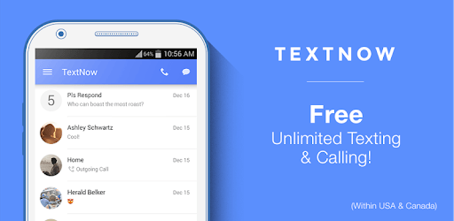 Features of TextNow for PC