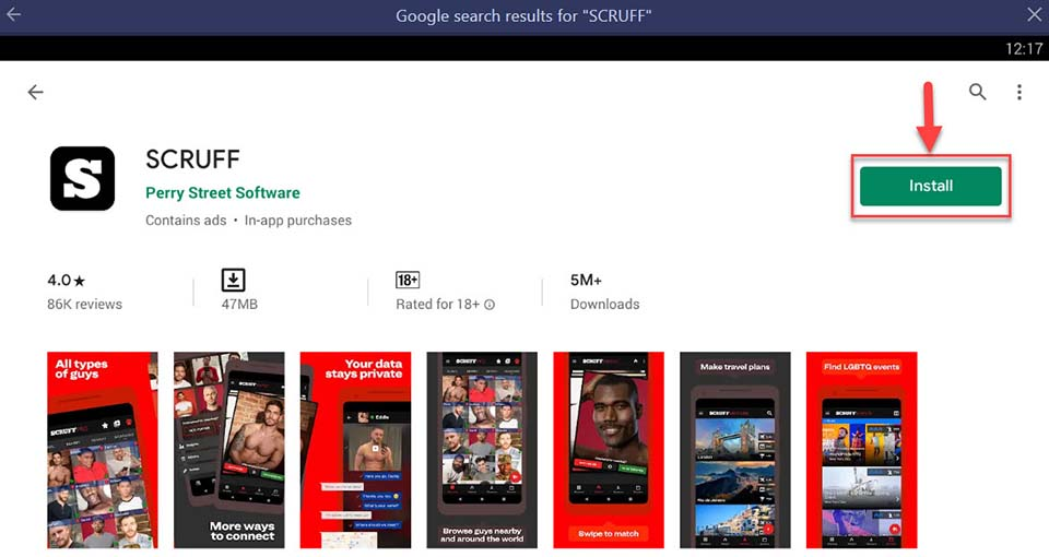 Download SCRUFF For PC – Windows 7/8/10 latest version