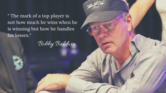 Bobby Baldwin a.k a the Owl, American Professional Poker Player