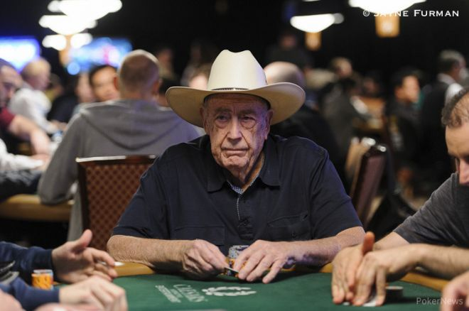 Doyle Brunson a.k.a Texas Dolly The Poker legend