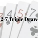 best hand in 2-7 triple draw