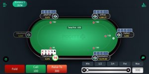6 max poker table running full on Pocket52