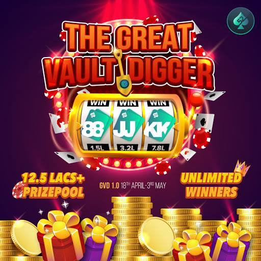 Play Poker Online | Great Vault Digger Contest