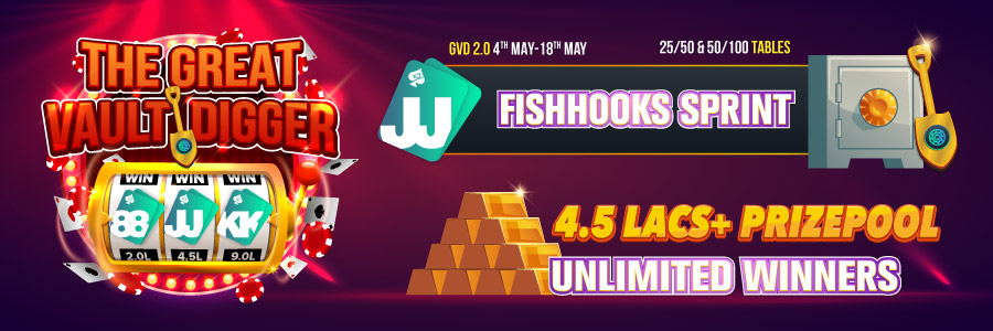 Play Poker At Fishhooks 2.0