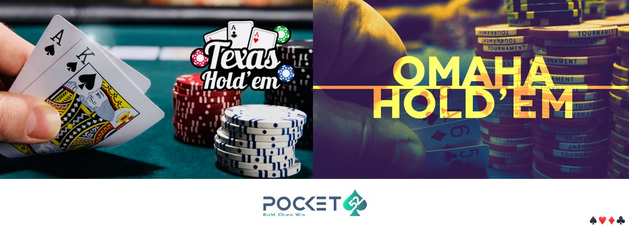 Play Poker Online India - Texas Holdem vs. Pot Limit Omaha Poker