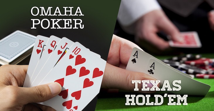 The Many Differences Between Texas Holdem and Pot Limit Omaha Poker