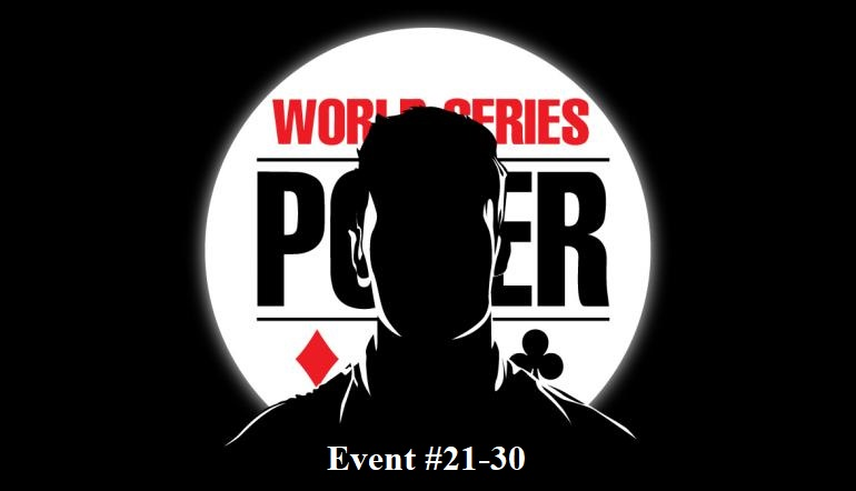 World Series of Poker News – Here Is The WSOP 2019 Winners List (Event #21-30)