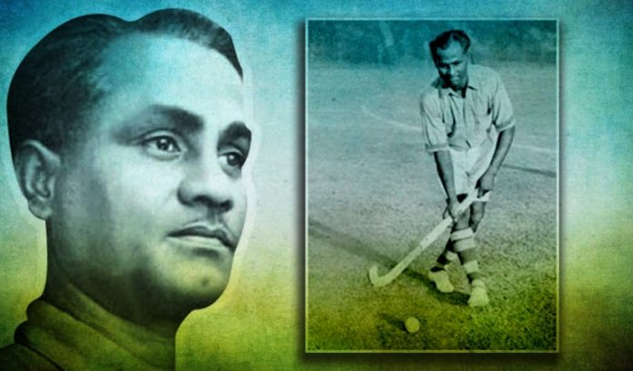Dhyan Chand Hockey Player