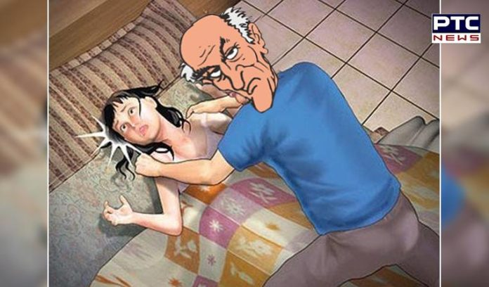 55-year-old man rapes six-year-old granddaughter