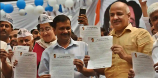 EC threatens action against AAP over discrepancies in electoral funding reports