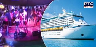 Luxury cruise ruined with wild parties by 1,300 employees of South Asian Company