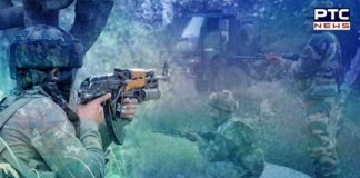 2 Encounters underway between security forces and terrorists in J&K