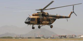 Afghan army helicopter crash kills 25