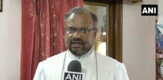 Rape accused bishop Franco welcomed with rose petals in Jalandhar