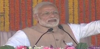 Modi hits out at Naxals, Cong, asks Bastar to vote for BJP