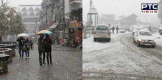 Manali snowfall