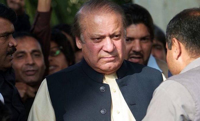 Former Pak prime minister Nawaz Sharif