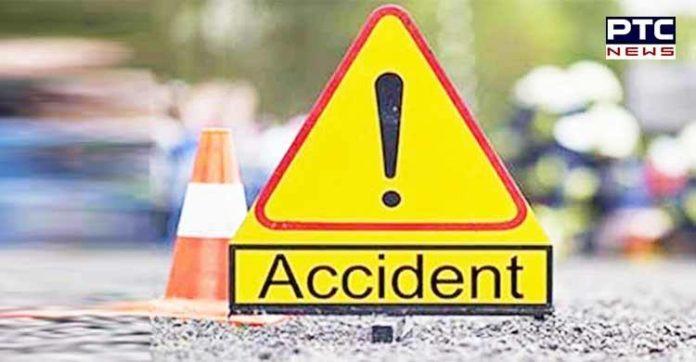 motorcycle-van collision