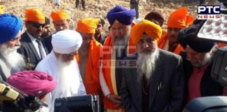 Bihar CM Nitish Kumar with religious leaders jointly lays foundation stone of Gurudwara Guru Nanak Sheetal Kund