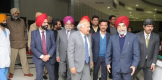 Health and Family Welfare Minister Brahm Mohindra visits Capitol Hospital