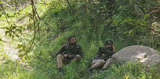 Jammu and Kashmir : Encounter breaks out in Pulwama , One militant killed