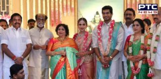 Soundarya Rajinikanth ties knot with actor-businessman Vishagan Vanangamudi