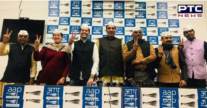 AAP declares candidates