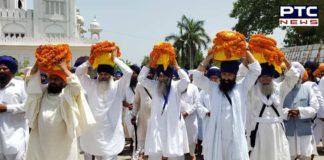 Damdami Taksal Giani Harnam Singh Khalsa Mother Kiratpur Sahib scattering of ashes