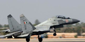 IAF scrambles Sukhoi-30 jets after sighting Pakistani drone