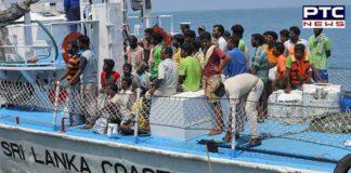 Sri Lankan Navy arrests 18 Indian fishermen